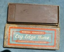 Norton Ezy Edge Razor Hone Vintage Whet Stone in Box