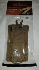 BLACKHAWK STRIKE  RADIO MBITR POUCH & SPEED CLIPS MOLLE -  COYOTE TAN 38CL20CT