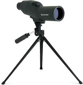 Celestron 50mm Waterproof Spotting Scope ~ Zoom 15-45x ~ 52228 ~ In Stock ~ New
