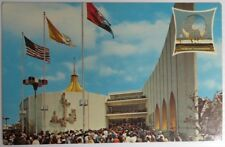 1964 NEW YORK WORLD'S FAIR VATICAN PAVILION POSTCARD - UNUSED         (INV15006)