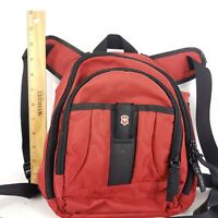 Victorinox Women Red Black Mini Backpack One Size