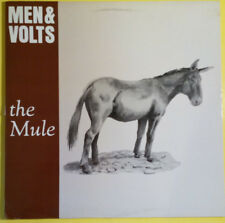 MEN & VOLTS - The Mule (1987 LP on Shimmy Disc, Boston band) VG++/EX+
