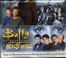 Buffy The Vampire Slayer Men Of Sunnydale Factory Sealed Hobby Box 36 Packs