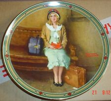 Knowles American Fine China A YOUNG GIRLS DREAM By Norman Rockwell