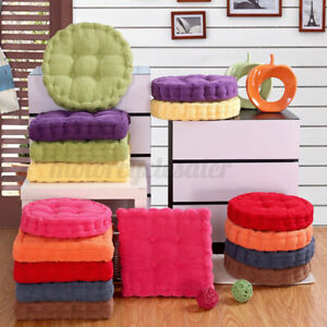 Soft Chair Cushion Corduroy Seat Pads Dining Room Square/Round Pad Home Deco