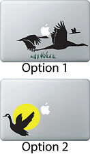 Geese Hunting Wildlife Decal Sticker for Apple Mac Book Air/Pro Dell Laptop