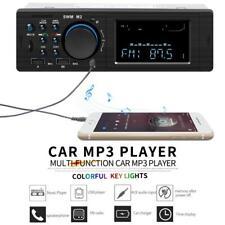 12V In-Dash Dual USB Bluetooth Car Stereo Radio FM Aux Input MP3 Audio Player