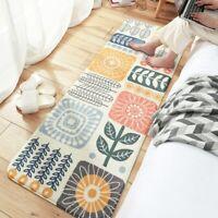 40*120cm Soft Long Area Rug Carpets for Bedroom Bedside Non Slip Floor Mat Decor