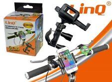 Supporto Bicicletta Bici Moto Universale X Smartphone Mp4 Linq Li-Bk300