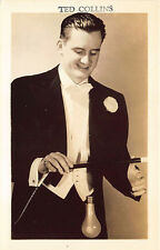 Ted Collins Magician Owner of Mecca Magic Shop of Bloomfield NY RPPC Postcard