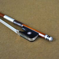 Top Model Pernambuco Cello Bow Master Level Pure Silver Mounted Well Balanced