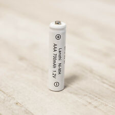 Pack of 5 AAA Rechargeable Solar Batteries Ni-MH 700mAh for Solar Lights