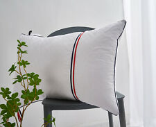 """Down Bed Pillows Feather Pillow Soft 100% Cotton Cover 18"""" x 26"""""""