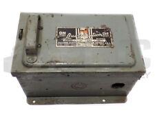 BULLDOG ELECTRIC BSU321 BUS-TRIBUTION 30AMP 250V ENCLOSURE
