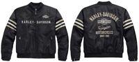 Harley-Davidson Heritage Nylon Bomber Jacke * Gr. XL
