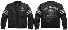 Harley-Davidson Heritage nylon Bomber chaqueta * talla XL