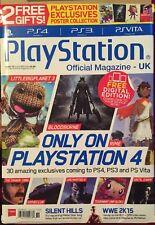PlayStation Official Magazine UK Bloodborne Rime WWE Nov 2014 FREE SHIPPING!