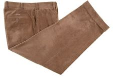 Paul & Shark Yachting Golden Brown Wide Wale SOFT Corduroy Flat Front Pants 37