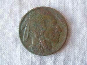 1921-S San Francisco Mint Buffalo Nickel Good Details You Grade Visible Horn