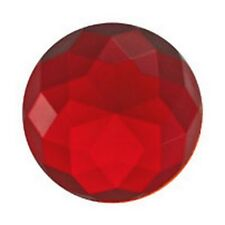Stained Glass Jewels - 27x12mm HI-CROWN-RED (3780) FREE SHIPPING
