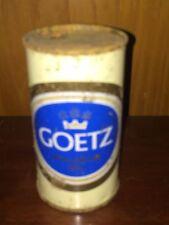New listing Goetz Premium Quality Beer Flat Top Beer Can