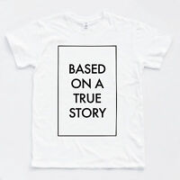 TRUE STORY Fashion Vogue Blogger Cool Tee Hipster Selfie Paris Top Indie T-shirt