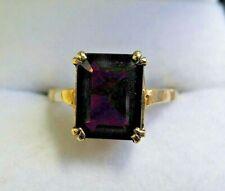 Vintage 9 carat Gold Garnet Ring Size K 1/2