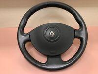 VOLANT CUIR SCENIC 2 MEGANE 2 sans régulateur de vitesse