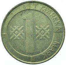 Finland, 1 MARKKA, 1995 BEAUTIFUL COLLECTIBLE COIN  #WT31582