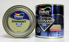 """Lot Peinture Fer DULUX VALENTINE 2 X 0,5 L """" Roseau """""""