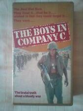 "THE BOYS IN COMPANY C ""Rare U.K.  Rental"" (VHS)( Pre-Cert)"