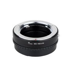 Camera Adjustable Macro Infinity Adapter Tube For Minolta MD Lens to Sony NEX