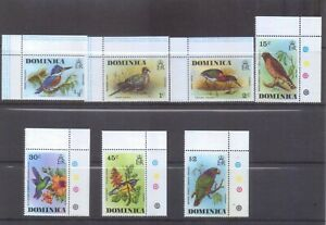 Dominica 1976 Birds set unmounted mint