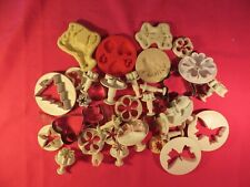 Fimo polymer clay, Large Quantity of Cutters & Silicon Moulds