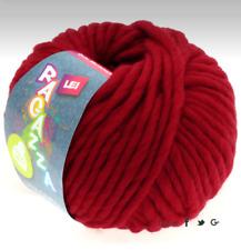 Lana Grossa Ragazza Lei Color 059 Rojo Oscuro