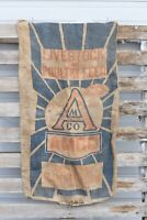 AMCO Co. 100lb Livestock and Poultry Feed Bag Burlap Bag