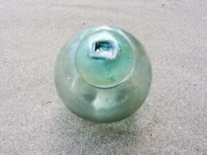 Vintage Japanese Glass Fishing Float Marked