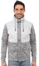 Rare Mens The North Face Small Street Wear Hoodie Jacket Grey Zip Sweater White