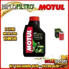 KIT TAGLIANDO 2LT OLIO MOTUL 5100 15W50 KTM 690 Enduro 1st Oil Filter 690CC 2008