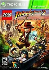 LEGO Indiana Jones 2: The Adventure Continues (Microsoft Xbox 360 - VG