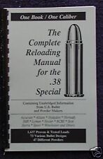 .38 Special Reloading Manual LOADBOOK USA Latest 2016 Edition  38 SP  New!