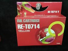 Compatible T714 yellow  printer ink  cartridge for SX200  SX218  SX510W  SX600FW