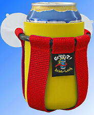 Grippit Boat PWC Jetski ATV Scooter RV Drink Holder Cup Holder Suction Cup RED