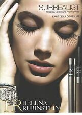 PUBLICITE ADVERTISING 2006   HELENA RUBINSTEIN cosmétiques mascara        130612