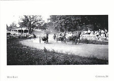 "*Postcard-""Mule Races"" @ The Harrison County Fair- *Corydon, Indiana (XT-1)"