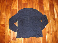 NEW Womens TOMMY HILFIGER Masters Navy Tunic Long Sleeve Shirt Sz 2XL