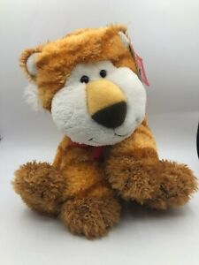 Russ Berrie Roarrie The Tiger Cub Plush Kids Soft Stuffed Toy Animal Bow Tie
