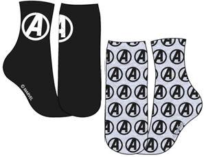 Mens Marvel Avengers Socks - Pack of 2