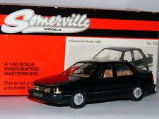 Somerville 122 1984 Saab 9000 Turbo 16 Black 1/43