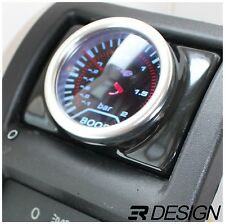 Vauxhall Astra G Mk4 Driver Air Vent Gauge Holder Pod 52mm RHD LHD -Gloss Black